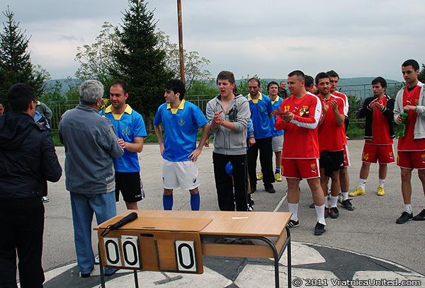 Belovishte team: First place at 'VRATNICA 2011' tournament