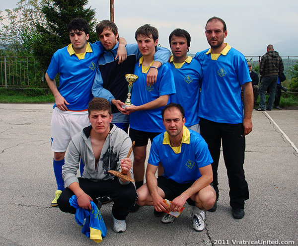 Belovishte: Winner at 'VRATNICA 2011' Traditional Mayday Sports Tournament