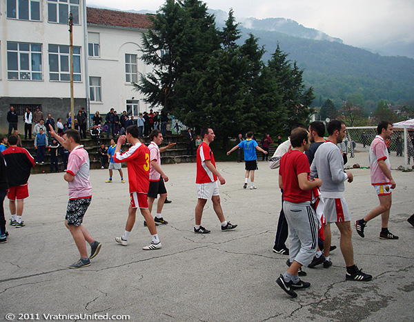 End of the first semifinal at 'VRATNICA 2011'