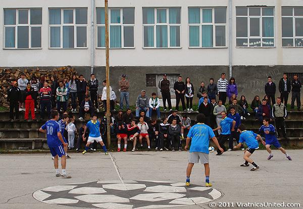 Football scene: 'Bobe Junior' (Janchishte) vs Belovishte