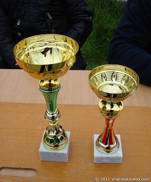 Goblets at 'VRATNICA 2011' Mayday Tournament