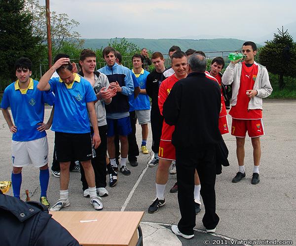 KK 'Tigar' (Belovishte): Second place at 'VRATNICA 2011' tournament
