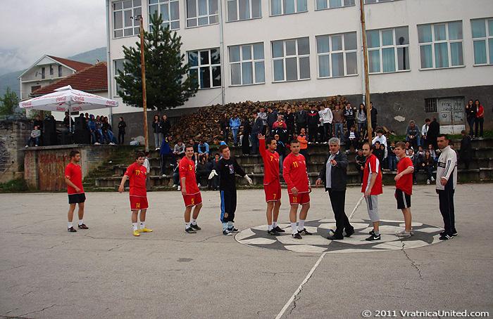 Football game: KK 'Tigar' (Beloviste) vs Odri