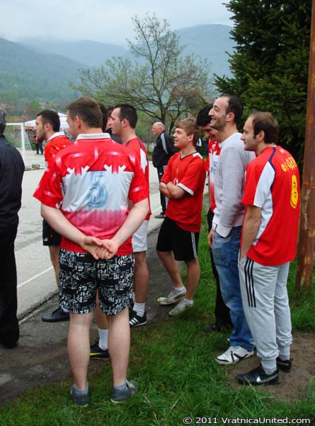 Odri football team tactics before the match
