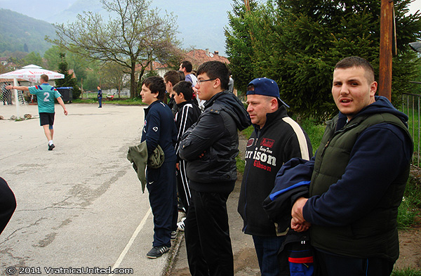 Spectators at the tournament waiting for the finals