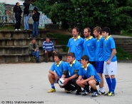 Regular photo shooting before the 1st round tournament games: Belovishte football team