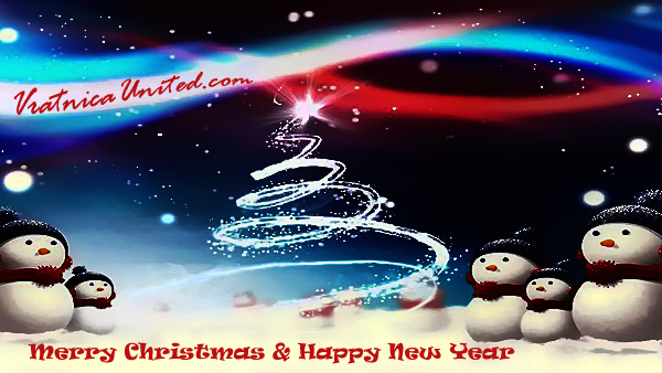 Vratnica United wishes you Merry Christmas and Happy New Year