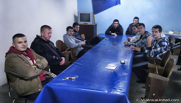 Vratnica Youth meeting about Mayday Tournament 2013